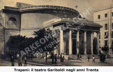 Il teatro di Trapani Garibaldi