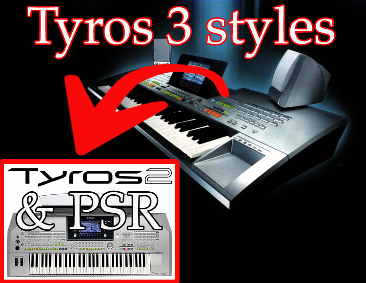 Yamaha tyros 2 styles car interior design for Yamaha dgx 305 ebay
